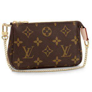 🎁 New Louis Vuitton Mini Pochette in Monogram